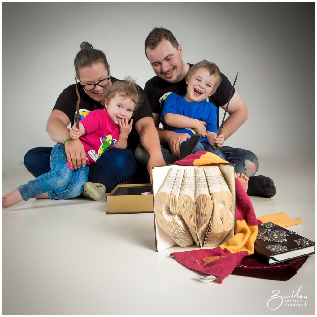 A Harry Potter Inspired Family Photoshoot Bartley Studios