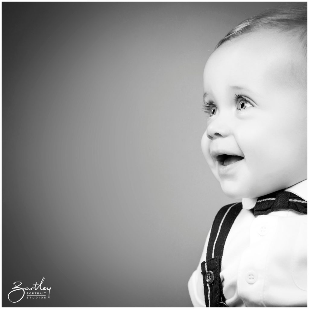 beautiful black and white portrait taken in cheshire photography studio