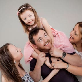 family and kids portrait photography at our studio in Bartley Portrait Studios in liverpool Cheshire
