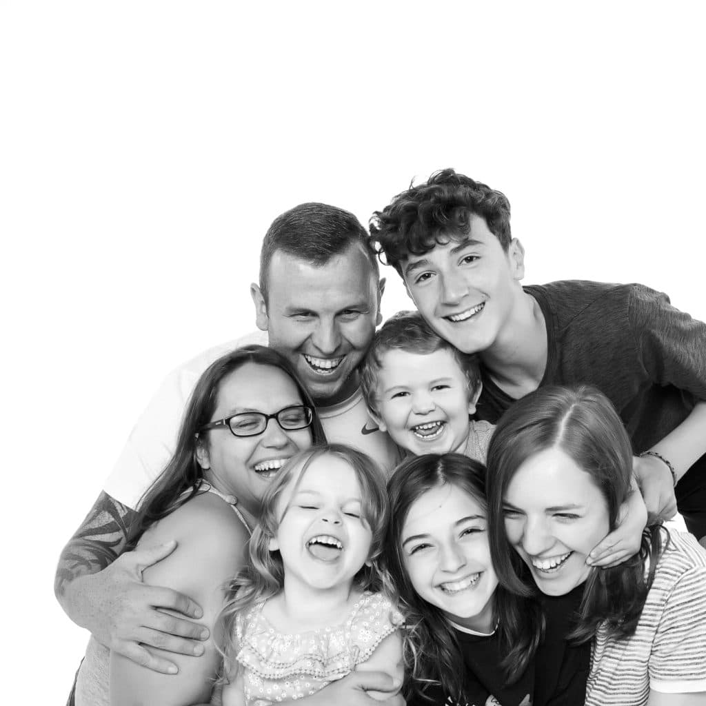 Liverpool Family with 5 children