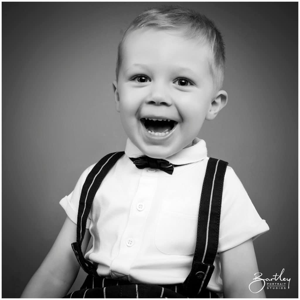 beautiful black and white portrait taken in cheshire photography studio
