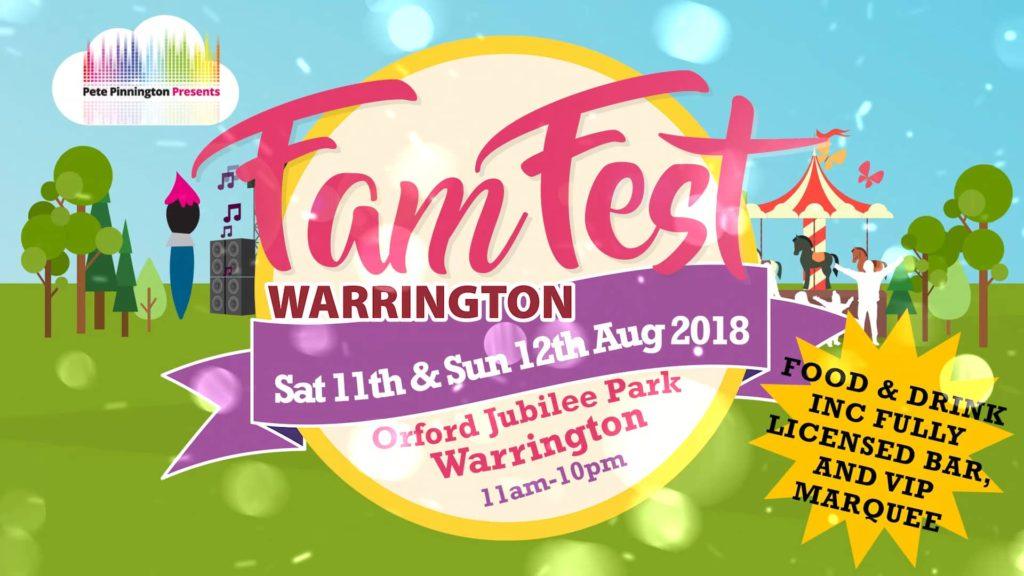 Famfest Warrington Cheshire