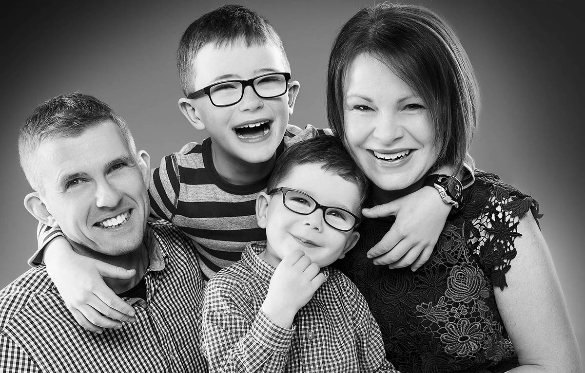 Family Portrait Photography Studio Bartley Portrait Studios Cheshire