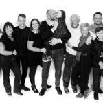 large family group shot
